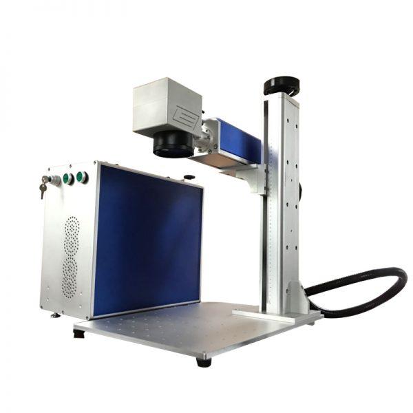 Separated fiber marking machine